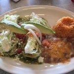 Enchiladas verdes! Outstanding!