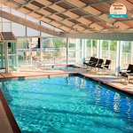 Indoor Pool and Hot Tub at Whispering Pines