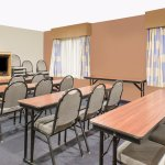 Our meeting room can accommodate up to 30 people.