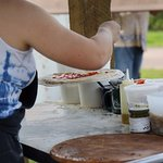 All our wood-fired pizzas are made from scratch with ancient grains spelt flour