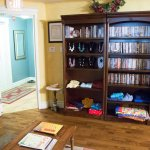 A great area with lots of DVD to choose from if the weather is not great