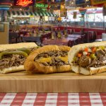 Italian Beef Trio: Beef w/Sweet Peppers, Beef-N-Cheddar Croissant and our Combo Beef and Sausage