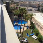 Views from the roof top and the pool area hotel Rober Palas