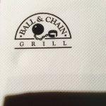 Photo de Ball and Chain Grill