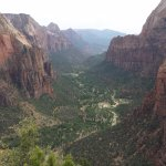 From Angels Landing Viewpoint, amazing!