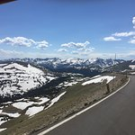 Amazing top of the world views!