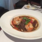 Shrimp with sobe noodles!