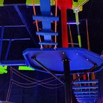 The Suspended Rope Course is 2 levels high