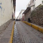 calle donde solo entra 1 auto