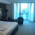 Room 1407 with balcony and beach view