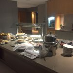 Cold finger food in Executive Lounge