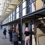 Führung durch das Wyoming Frontier Prison.
