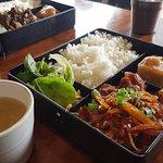 Bento box food