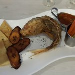 Red snapper and plantain.