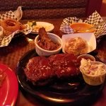 Meat sampler with sides
