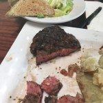 10 oz. ribeye steak at Fat Jacks.