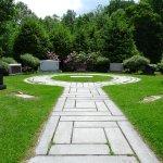 tombstone garden