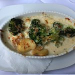Potatoes-brocoli gratin
