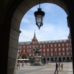 Plaza Mayor, una de las entradas