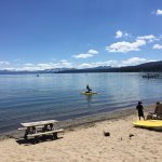 No pool but who needs it when Lake Tahoe is right there!