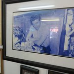 Picture of Elvis in the Elvis Booth