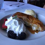 Fuji Apple and Mascarpone Strudel