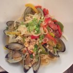 Pasta with Clams and garlic