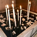 candles to light in small chapel