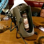 Love the wine holder :-D
