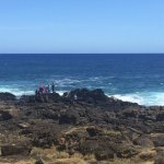 walk to the left to see tide pools and close up at southernmost point