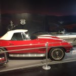 Great collection of Corvettes and check out the cave in!