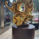 Salvator Dali's sculpture