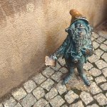 A Wroclaw gnome: photographer/tourist!