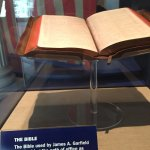 bible used by garfield at swearing in