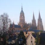 Bayeux centre a short walk away