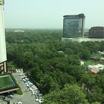 Photo taken from royal suite at 12th floor.