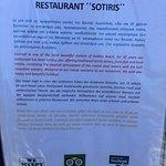 breakfast,lunch,dinner,  the brilliant Sotiris Taverna