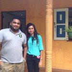 Kaushalya & Ruwandi our lovely hosts