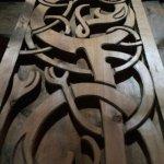 Wood carvings.