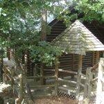Gazeeboo entrance to Deer Clan Cabin