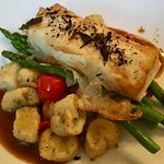 PEI Potato Wrapped Halibut