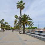 Promenade of Barceloneta