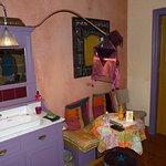 lavabo dans chambre mais wc séparé et grande douche séparée