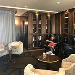 The Wellington Club for complimentary drinks and snacks