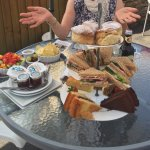 An excellent spread for afternoon tea