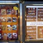 dim sum display menu for Jade Dynasty Seafood Restaurant