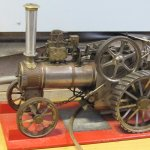 Model Steam Engine in the museum