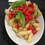 Angioletti fritti con pomodorini! Consigliatissimi