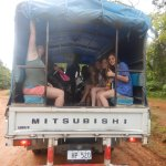 the lorry we were put on