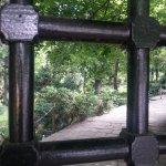 Boyana Church gardens from the entrance